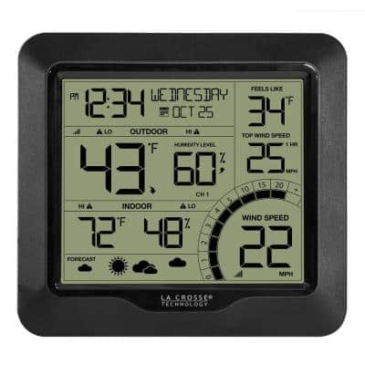 Wind Speed Weather Station with Wind Sensor
