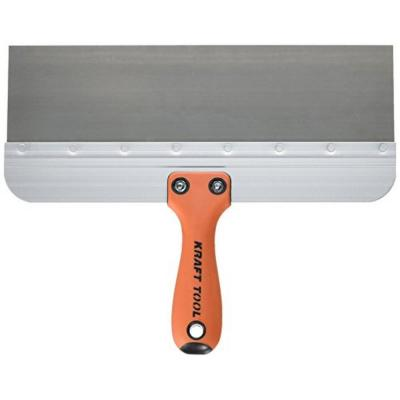 12 in. x 3 in. Stainless Steel Deluxe Taping Knife - Handle
