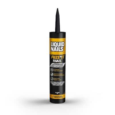 Fuze It Max 9 oz. Tan Interior/Exterior All-Purpose Adhesive (12-Pack)