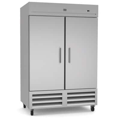 49 cu. ft. Commercial Upright Reach-In Refrigerator Stainless Steel