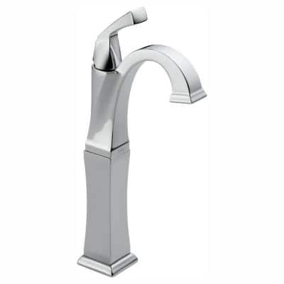 Dryden Single Hole Single-Handle Vessel Bathroom Faucet in Chrome