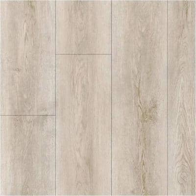 Take Home Sample -Silver Key Beach Oak Click-Lock Vinyl Plank Flooring - 5 in. x 7 in.