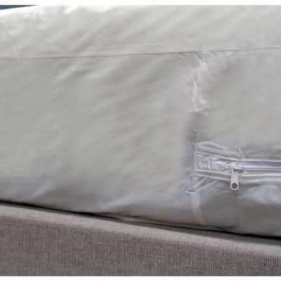 Gauge Bed Bug, Dust Mite, and Allergen Proof Queen Vinyl Mattress Or Box Spring Cover