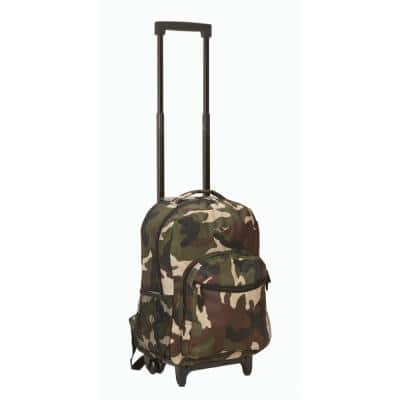 Roadster 17 in. Rolling Backpack, Camo