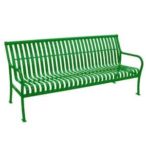 6 ft. Light Green Premier Bench